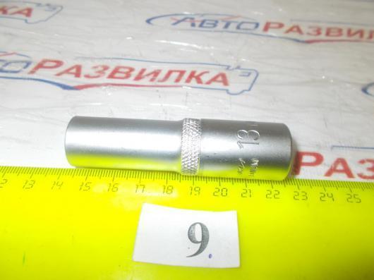 Головка 13мм 12 гранная глубокая  77913